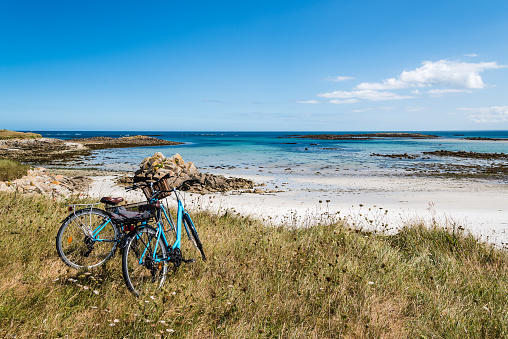 Une touche de paradis sur les quelques plages de Névez aux côtes Finistère